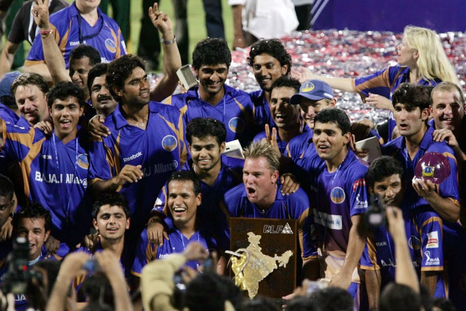 8. Rajasthan Royals | US$ 43 million - Rs 297 crores