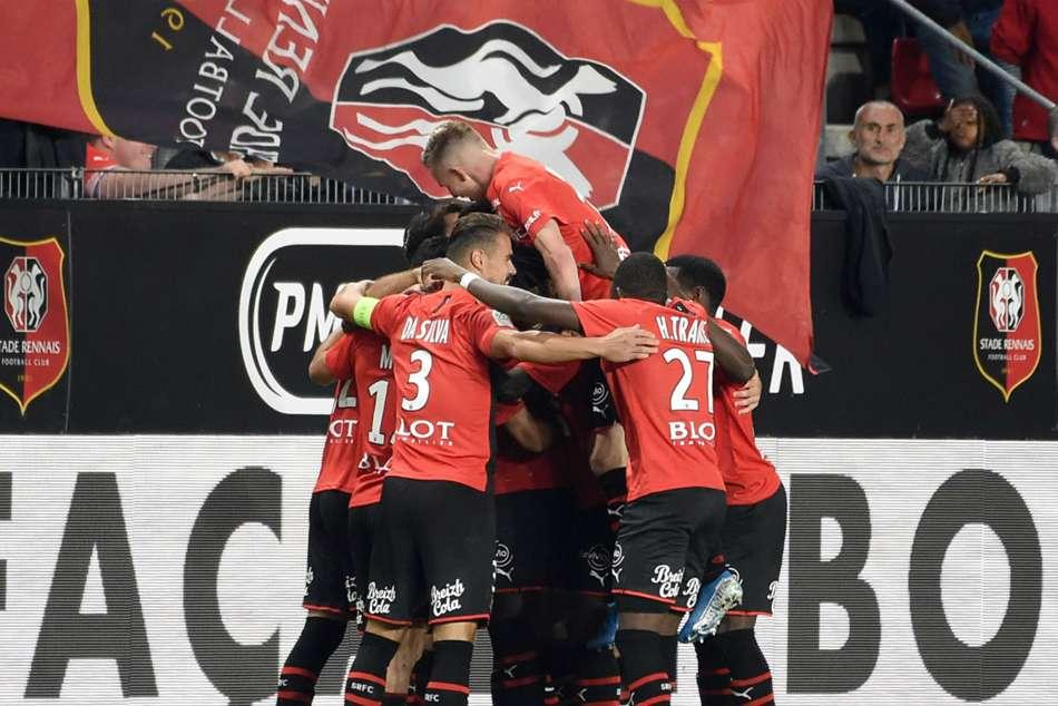 Rennes Paris Saint Germain Ligue 1 Champions Stunned