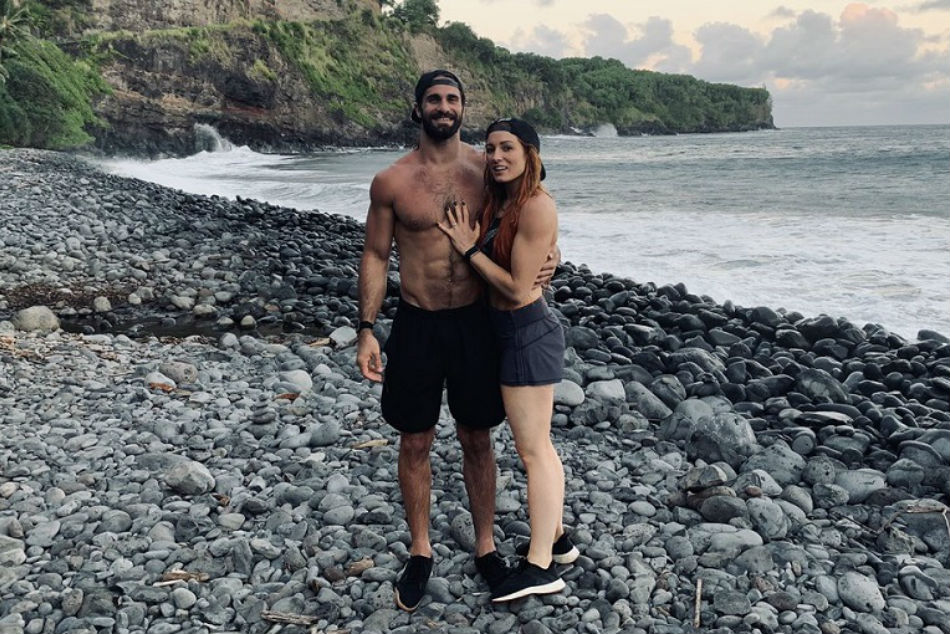 WWE stars Seth Rollins and Becky Lynch officially engaged