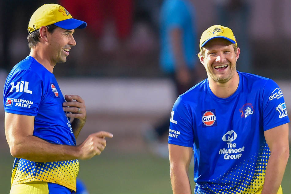 Dhoni Fleming Best Captain Coach Combination In World Watson