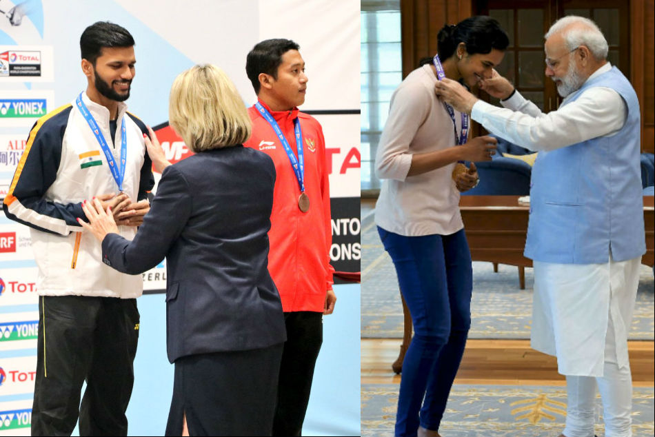 PM Modi congratulates Para-Badminton medallists after bronze-medal winner Sukant Kadam tweets