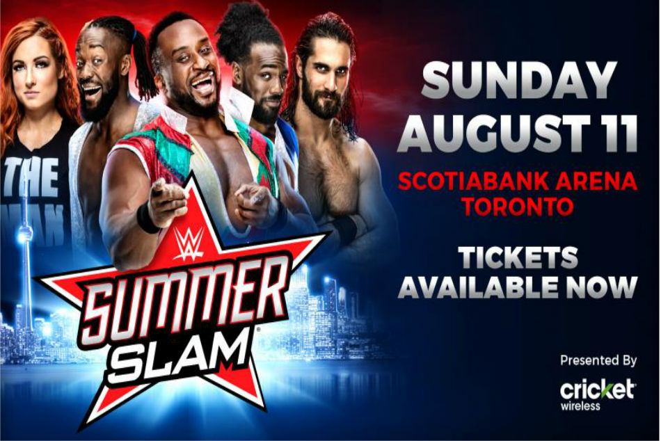 Potential Wwe Summerslam 2019 Match Card With New Matches