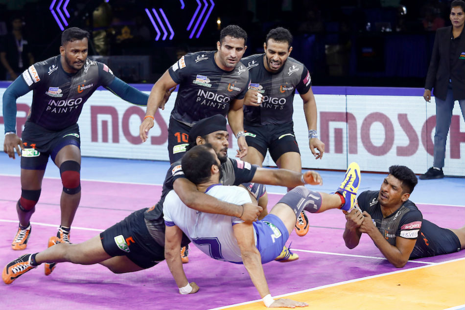 Pro Kabaddi League 2019: U Mumba beat Tamil Thalaivas 29-24; curse of home leg continues for hosts