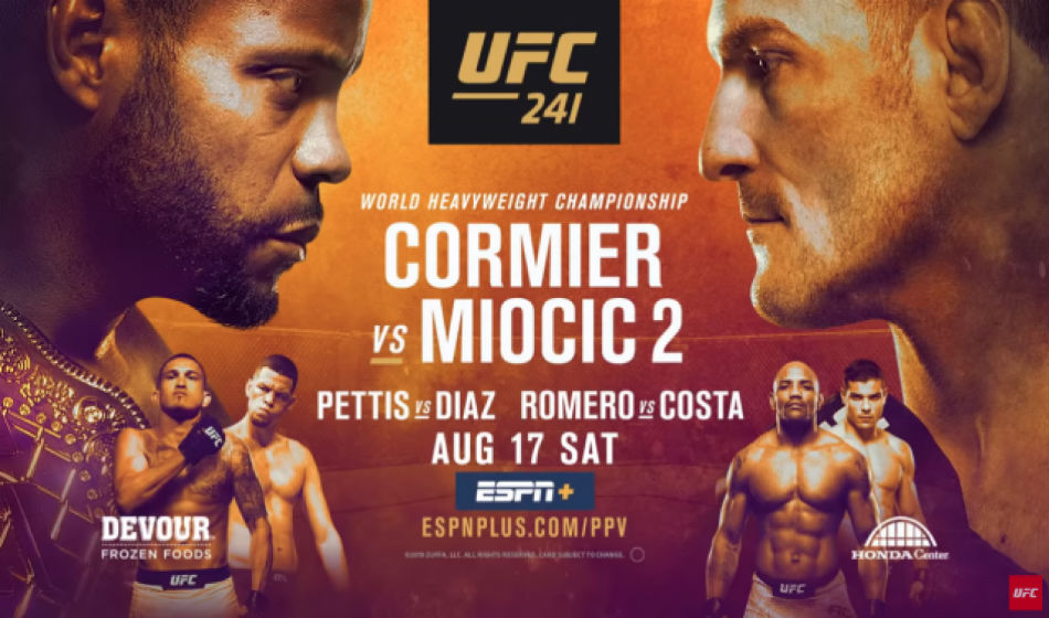 Ufc 241 Cormier Vs Miocic 2 Fight Card Schedule And Where To Watch