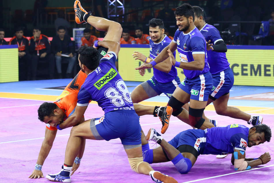 PKL 2019: Haryana Steelers notch up a fighting victory over U Mumba