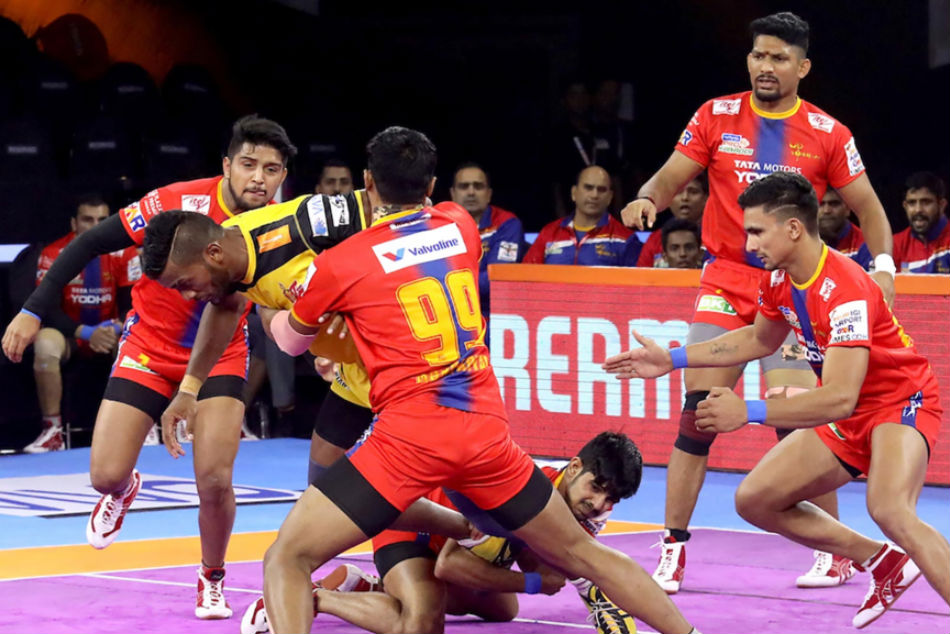 U.P. Yoddha will look to pick up pace after thrilling draw (Image Courtesy: Pro Kabaddi)