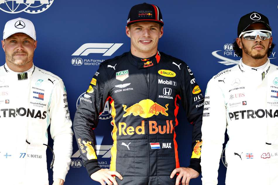 Verstappen Storms To First Career Pole In Hungary