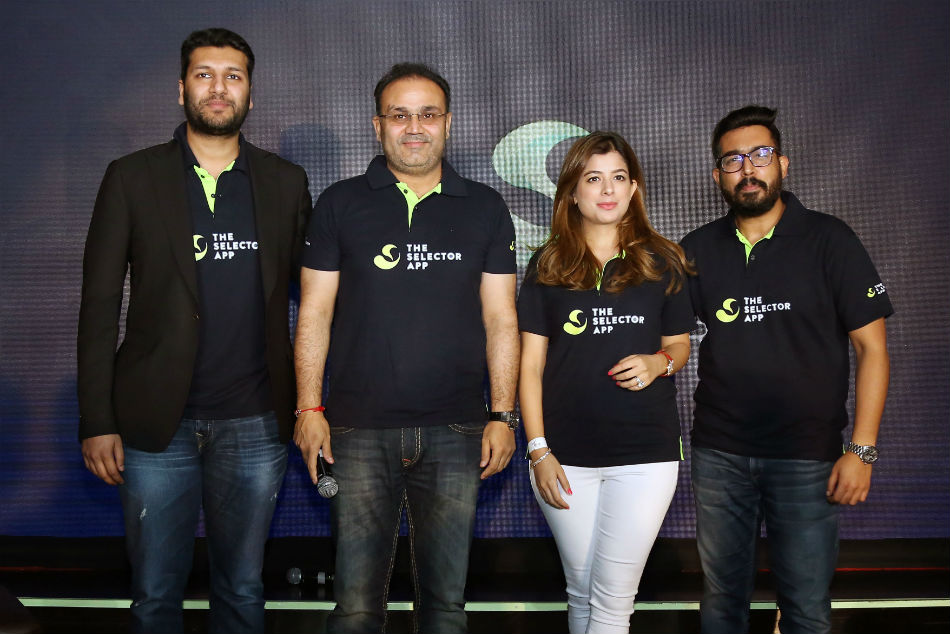 Sehwag, Lara come together to launch The Selector App to revolutionise the game of cricket