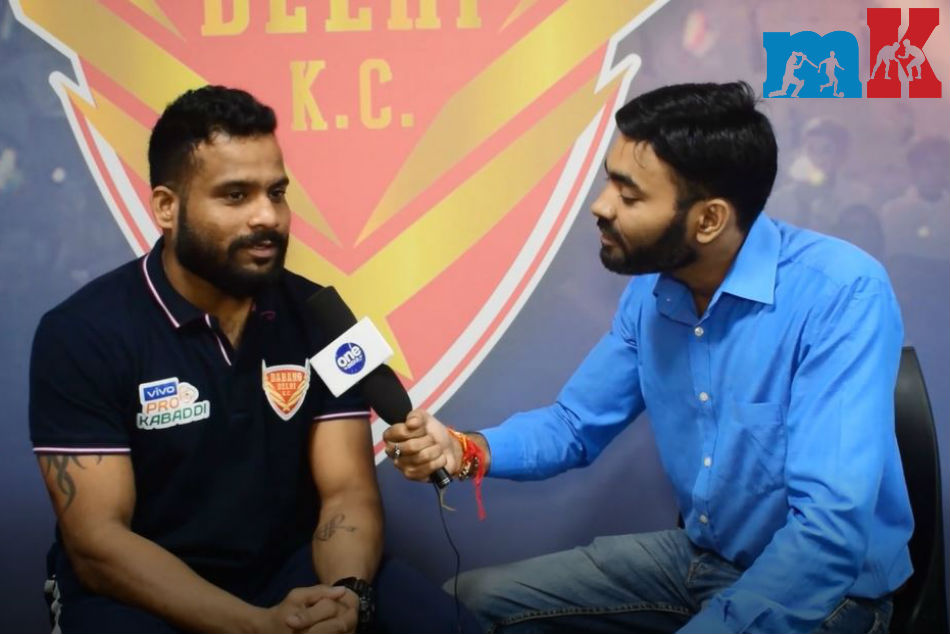 Exclusive! PKL 2019: Hope to give my best performance in home leg, says Dabang Delhi defender Vishal Mane