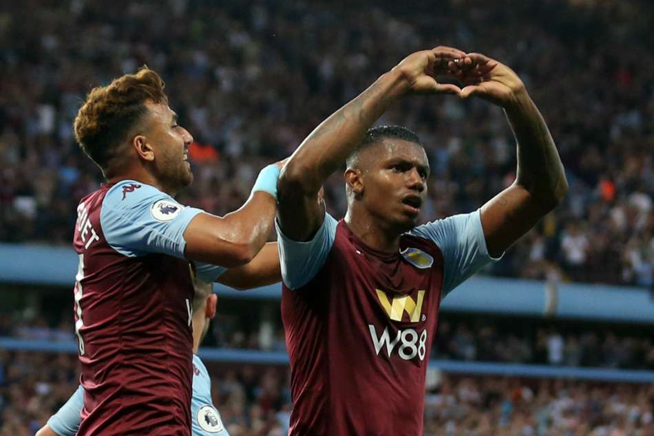Aston Villa 2-0 Everton: Wesley stars as Smith's men earn first win