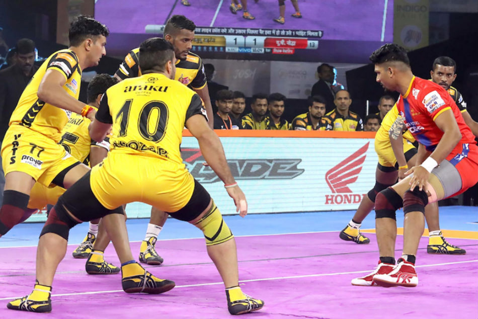 Telugu Titans will look for first win (Image Courtesy: Pro Kabaddi)