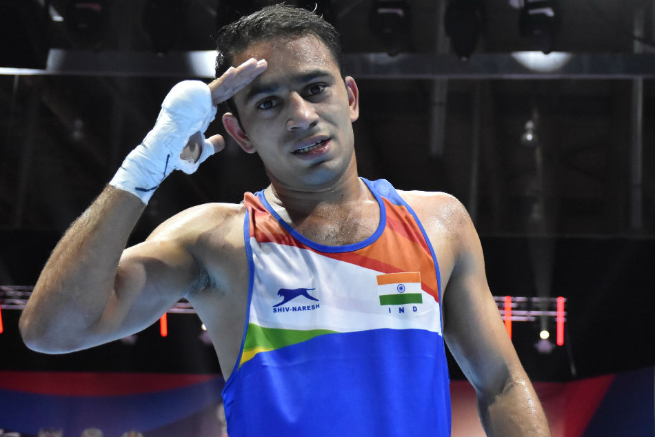 Aiba Men S World Boxing Championships Amit Panghal Manish Kaushik Enter Semi Finals Confirm Medals