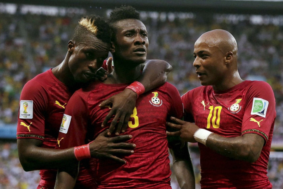 NorthEast Uniteds new siging Asamoah Gyan (centre) is the one to keep an eye on in ISL