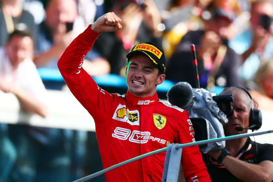 Charles Leclerc claimed back-to-back wins in Belgium and at Monza, but finished second in Singapore
