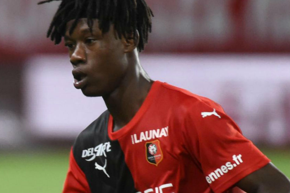 Rennes star Eduardo Camavinga burst on to the scene with a solid performance against PSG