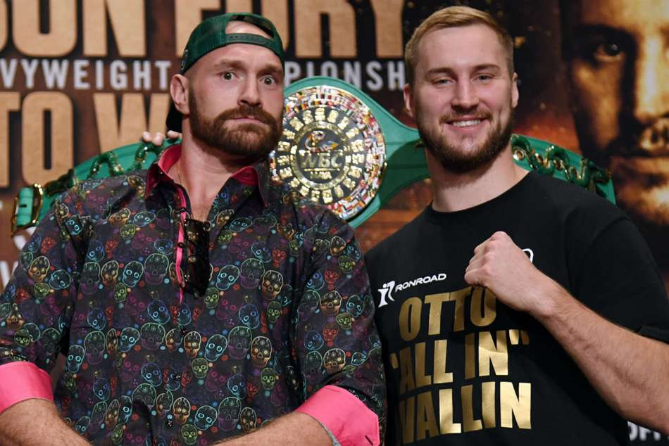 Tyson Fury meets Otto Wallin on September 14