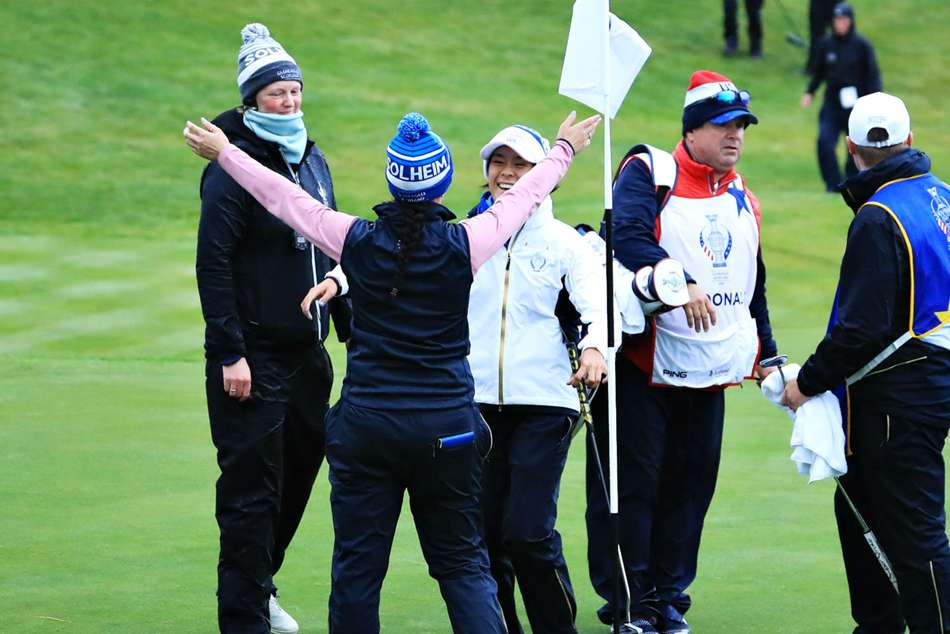 Solheim Cup 2019 Tied 8 8 Saturday Europe United States Gleneagles