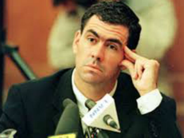 2. 2000 -- Hansie Cronje admits to match-fixing