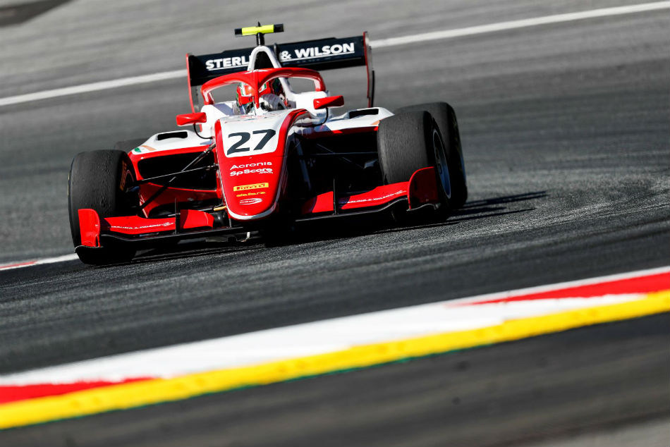FIA F3 Championship: Jehan Daruvala moves up to 2nd Pole and Podium in Belgium