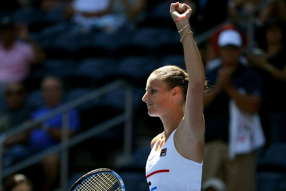 Karolina Pliskova Reaches Zhengzhou Open Semi Final Kristina Mladenovic Beats Elina Svitolina