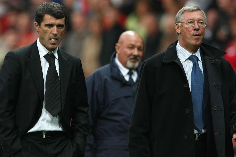 Roy Keane and Sir Alex Ferguson had a fall out in Manchester United