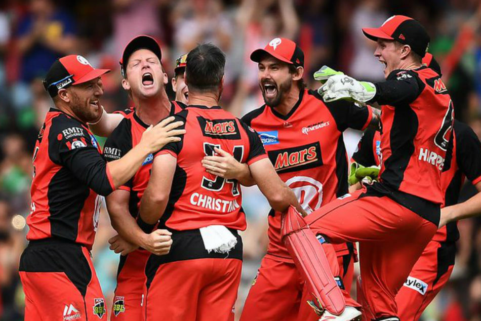 Melbourne Renegades, last seasons winners (Image Courtesy: BBL Twitter)