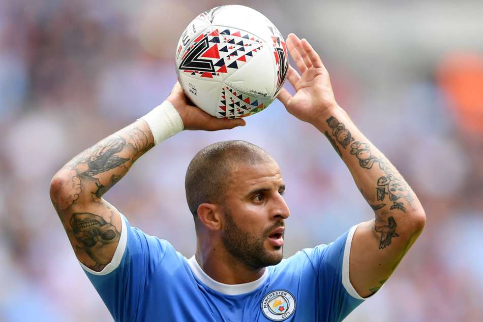 Kyle Walker may be used as centre-back by Pep Guardiola