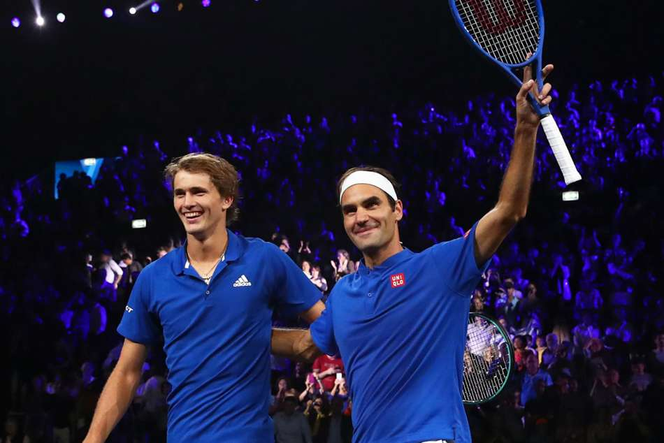 Federer and Zverev put Europe 3-1 ahead in Laver Cup