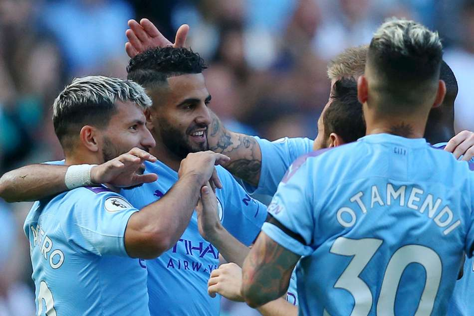 Manchester City thumped Watford 8-0