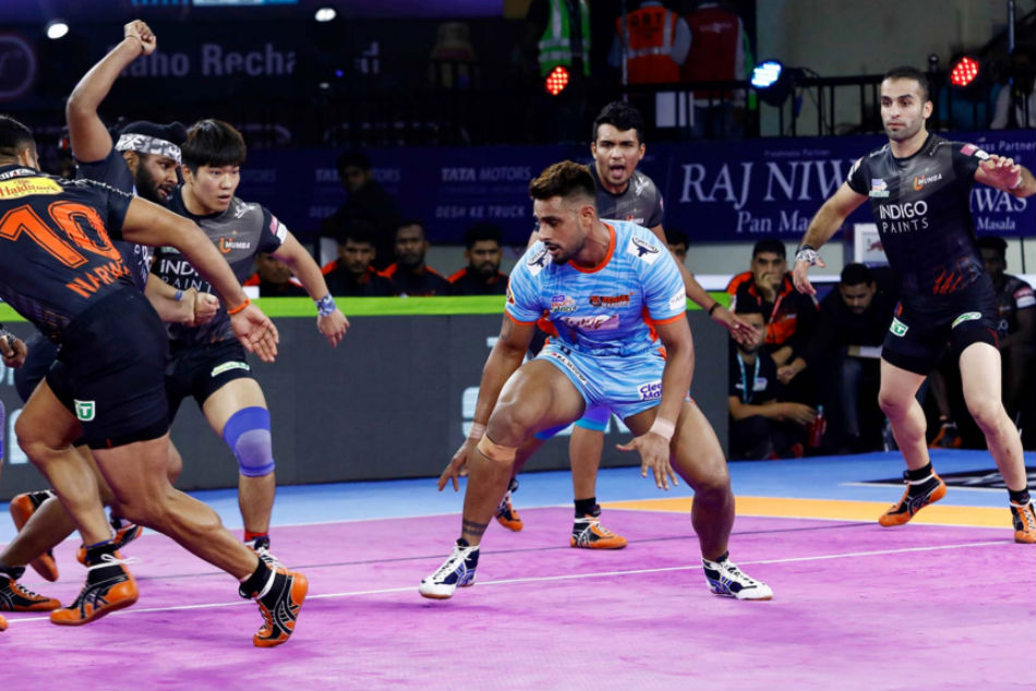 Maninder Singhs Bengal Warriors second home win (Image Courtesy: Pro Kabaddi)