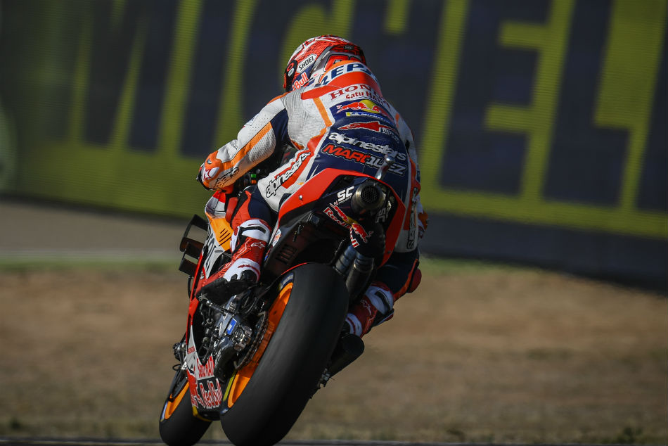 Aragon Grand Prix: Marquez masters Motorland on Day 1