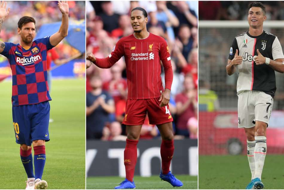 Messi, Ronaldo and Van Dijk finalists for FIFA Best award