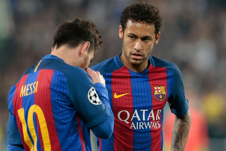 Lionel Messi Barcelona Neymar Laliga Psg