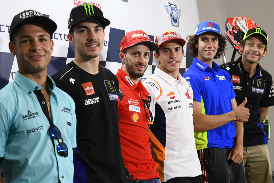 Motogp Riders Revved Up For San Marino Grand Prix