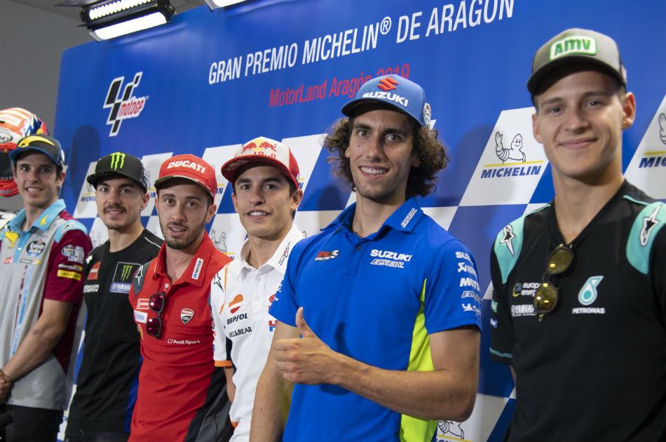 MotoGP riders ready to meet targets at Aragon
