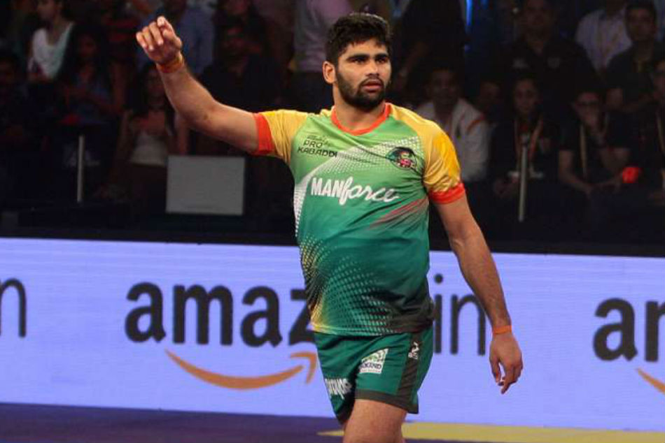 PKL Auction 2021: Pardeep Narwal smashes all-time Pro Kabaddi record, sold to UP Yoddha for Rs 1.65 crore