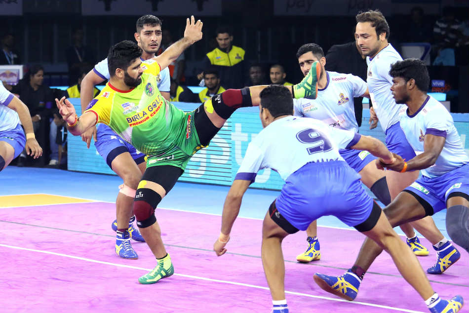 PKL 2019: Pardeep Narwal goes down in record books as he powers Patna Pirates to convincing win over Tamil Thalaivas