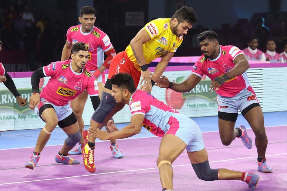 Pink Panthers and Gujarat Fortunegiants play out entertaining draw
