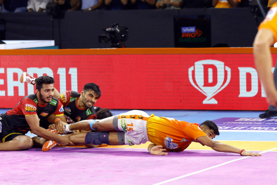 Pro Kabaddi League 2019: Puneri Paltan beat Bengaluru Bulls, end home-leg on a high
