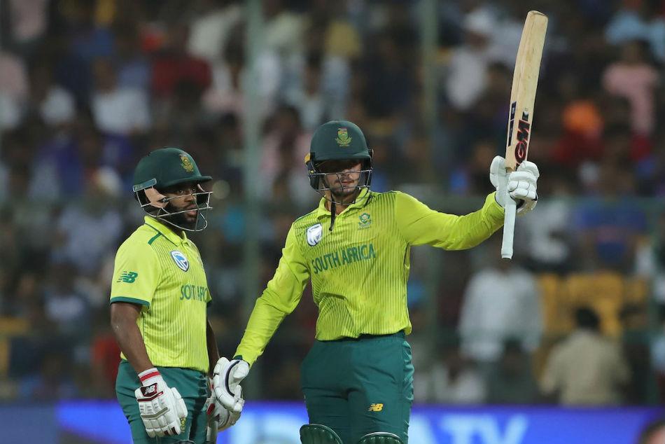 India Vs South Africa 3rd T20i Quinton De Kock Makes Fifty Proteas Level Series Bengaluru