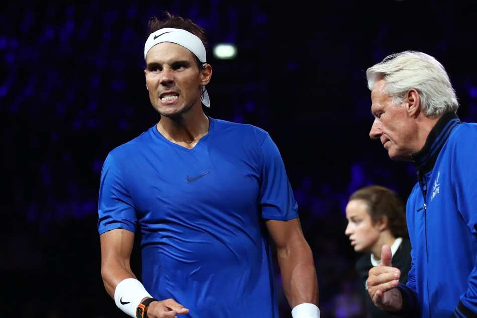 Nadal Misses Laver Cup Doubles With Federer Due To Inflamed Hand