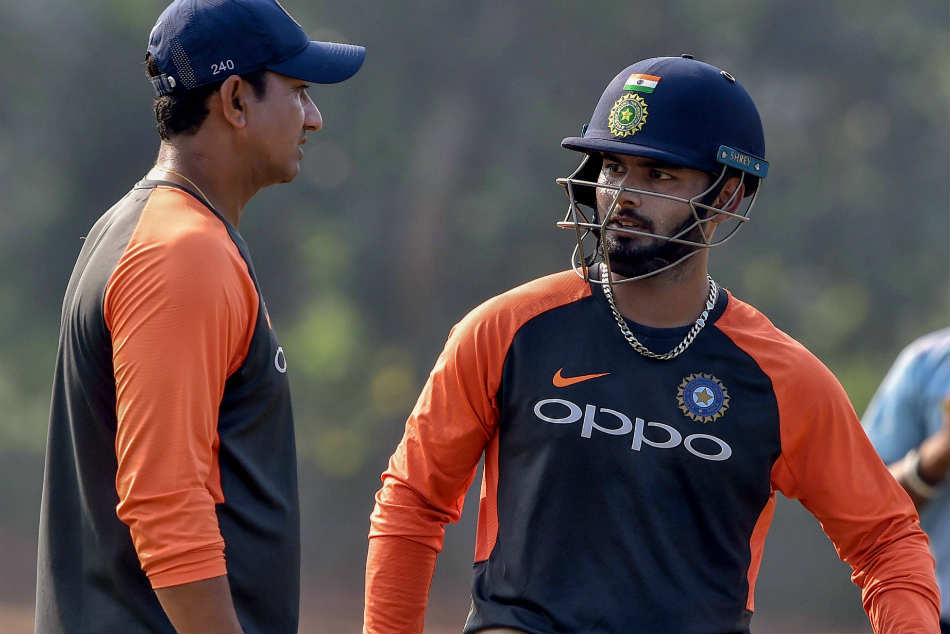 Things Sanjay Bangar worked on - Virat Kohli's alignment; Rohit Sharma's head position