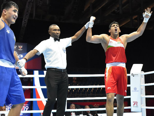 Sanjeet punches his way into the last-eight