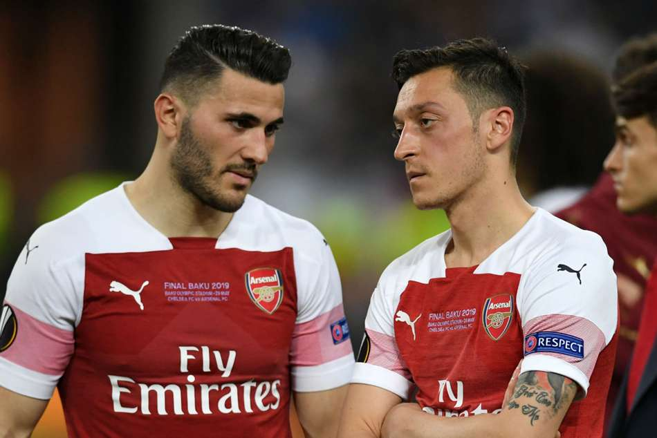 Sead Kolasinac and Mesut Ozil were the victims of an attempted carjacking in July