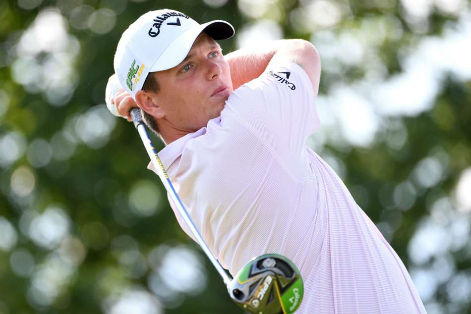 Callum Shinkwin shot a six-under 66 to set the pace in KLM Open
