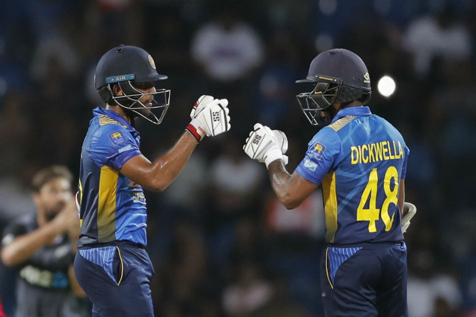 While Kusal Mendis (left) will miss the series through injury, Nroshan Dickwella has opted out