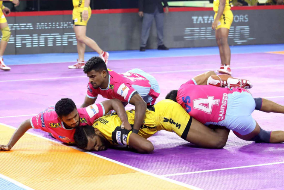 Jaipur Pink Panthers look to end home-leg with a win (Image Courtesy: Pro Kabaddi)