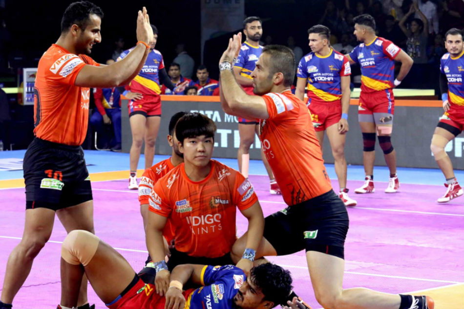 U Mumba face in-form UP Yoddha (Image Courtesy: Pro Kabaddi)