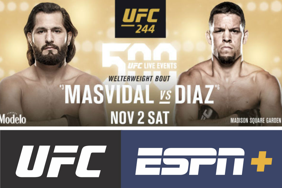 Masvidal Vs Diaz Gastelum Vs Till To Headline 500th Ufc Live Event