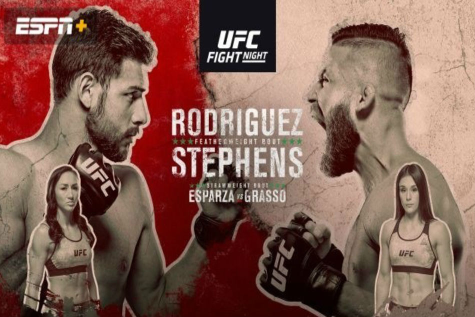 UFC Fight Night 159: Rodriguez vs. Stephens preview, fight card and where to watch
